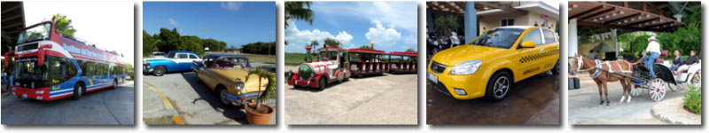 Public Transportation available in the Jardines del Rey